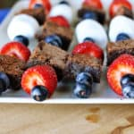 Brownie Kebabs