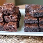 Fudgy Brownies {Think: Homemade Brownies Like The Boxed Mix!}