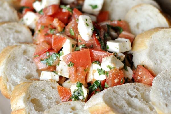 Marinated Caprese Salad