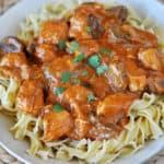 Paprika Chicken Stroganoff