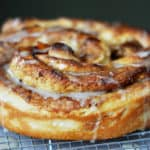 Giant Cinnamon Rolls {with step-by-step photos}