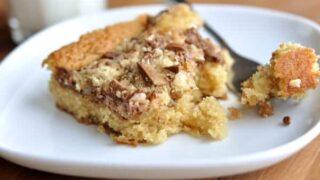Heath Bar Cake