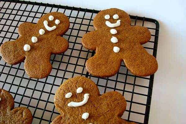 Cutout Gingerbread Cookies