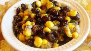 Balsamic Black Bean Salsa