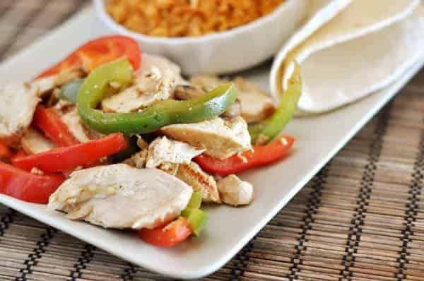 the best chicken fajitas - Mels Kitchen Cafe