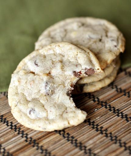 Chocolate Chip Hazelnut Cookies