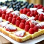 Festive Fruited Cheesecake Flag