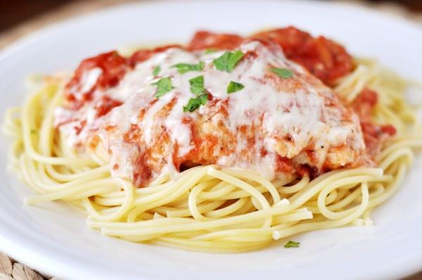skillet chicken parmesan - Mels Kitchen Cafe