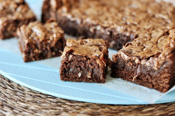 Gooey Chocolate Coconut Bars
