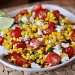 Mexican Tomato and Corn Salad
