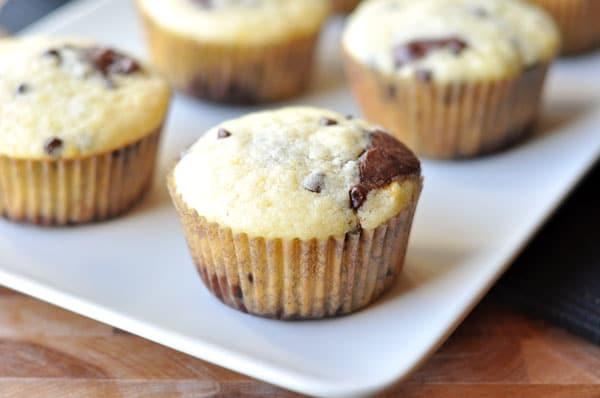 Chocolate Orange Swirl Muffins
