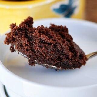 Chocolate Nutella {2-Minute} Mug Cake