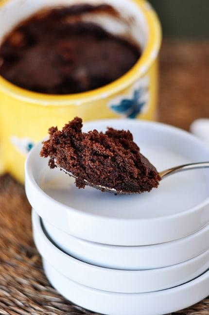 Mel's Kitchen Cafe | Chocolate Nutella {2-Minute} Mug Cake