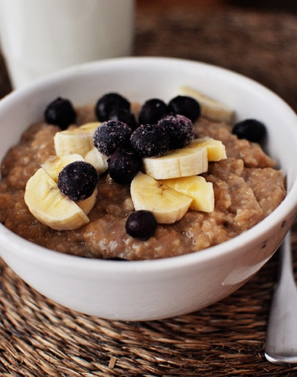 Slow Cooker Overnight Oatmeal