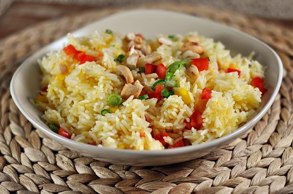 Orange Cashew Rice