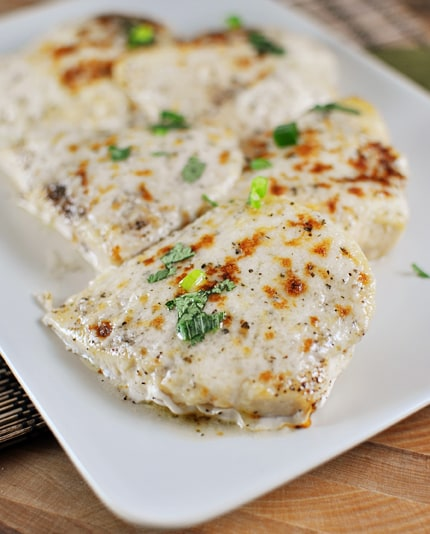 Broiled Parmesan Chicken