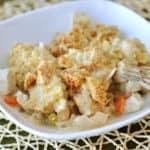 Chicken Pot Pie Crumble