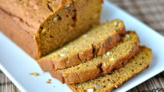 Pumpkin-Maple Hazelnut Bread