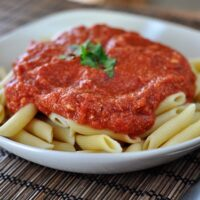 Red Brie Pasta Sauce