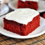 Red Velvet Sheet Cake
