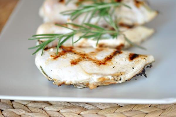 Grilled Rosemary Buttermilk Chicken