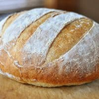 Easy Rustic Crusty Bread
