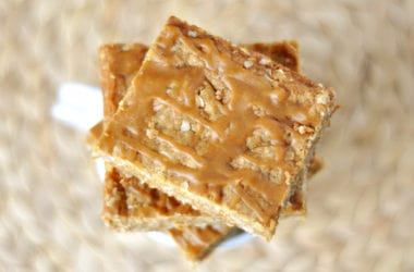 Oatmeal Butterscotch Bars