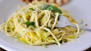 Zucchini & Yellow Squash Spaghetti