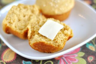 Whole Wheat Dinner Muffins
