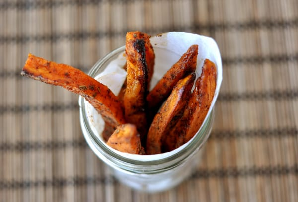 sweet potato fries - Mels Kitchen Cafe