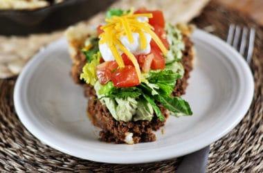 Skillet Taco Pie