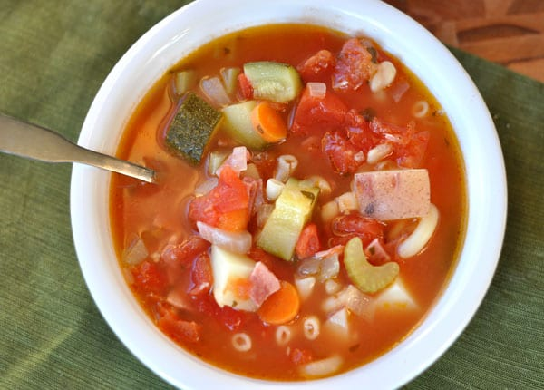 Autumn Minestrone Soup