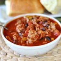 Hearty Turkey and Bean Chili