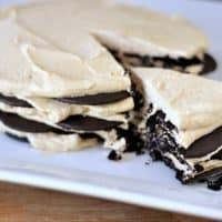 Chocolate Peanut Butter Wafer Cream Cake