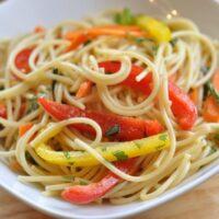 Simple Asian Noodle Salad