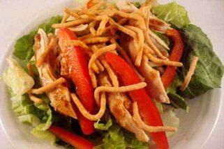Asian Chicken Salad with Hoisin Vinaigrette