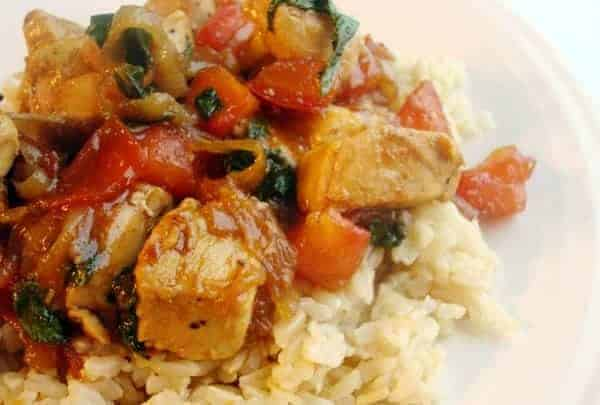 Stir Fry Basil Chicken