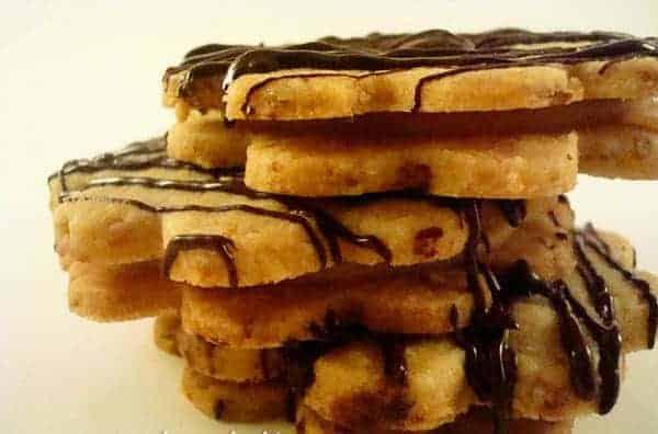 Caramel Shortbread Cookies