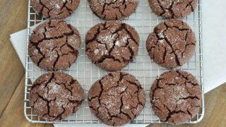Soft Chocolate Sugar Cookies