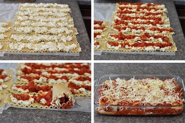 Italian Lasagna Rolls