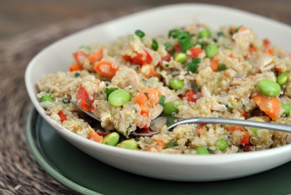 Thai Style Chicken and Quinoa Salad