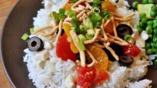 Hawaiian Haystacks: Chicken Sauce Reinvented