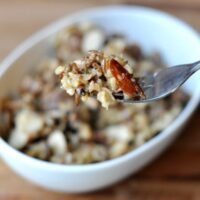 Wild Rice Hot Dish {a.k.a. Casserole}