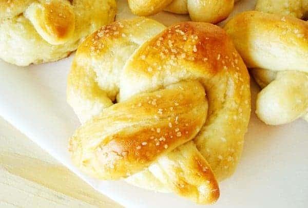 Chewy Soft Pretzels