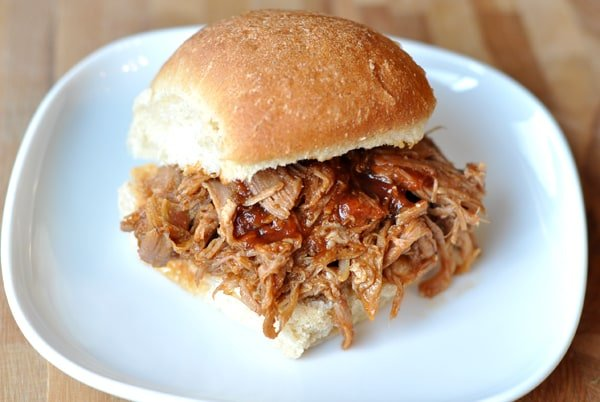 BBQ Pulled Pork Sandwiches {Slow Cooker} | Mel's Kitchen Cafe