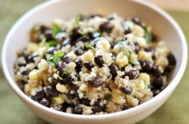 Black Bean and Sweet Corn Quinoa Salad