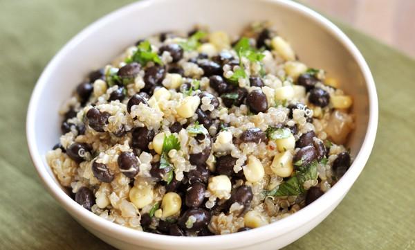Black Bean and Sweet Corn Quinoa Salad