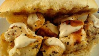 Chicken Spiedie Sandwiches
