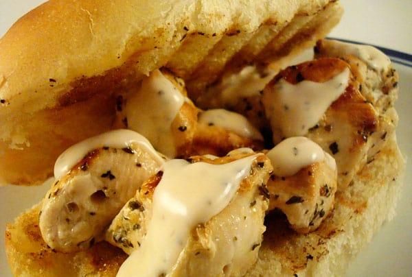 Chicken Spiedie Sandwiches | Mel's Kitchen Cafe