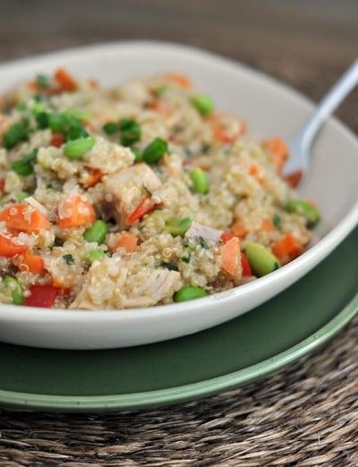 Thai-style Chicken Quinoa Salad